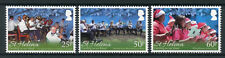 St Helena 2016 MNH Carolling on Our Island 3v Set Christmas Stamps