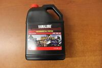 Yamalube Gallon 10W-40 atv Motorcycle MX Oil SxS Scooter Jet Ski 4 Stroke Oil