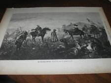 1888 Art Print ENGRAVING - The COSSACK GIFT Slave