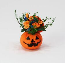 Dollhouse Mi 00006000 niature Delightful Halloween Pumpkin Floral Centerpiece