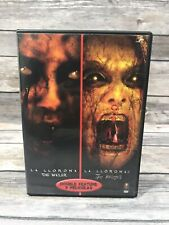 La Llorona The Wailer 1 & 2 Double Feature (DVD, 2009) Horror Scary Thrillers