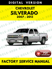 Chevrolet Silverado 2007 to 2013 Service Repair Workshop Manual
