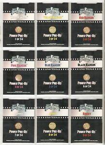 Fleer Ultra 1995 Mighty Morphin Power Rangers The Movie Pop-Ups 24-Card Set