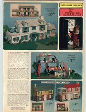 1968 PAPER AD Doll Baby Winkie Jointed House Colonial Vinyl Futristic Future