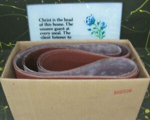 ShopSmith Mark V attachments - 5 sheets sandpaper for belt sander