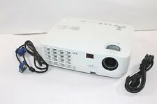 NEC NP115 DLP 2500 ANSI Lumen 1080i 720p Projector w/ Cables 2688 Lamp Hours