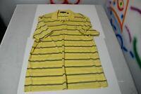 Augusta National Masters Golf Polo XL shirt PGA Yellow Blue Stripe Tournament
