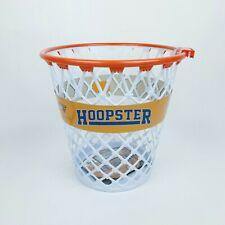 Official WPBA Orange/White Hoopster Basketball Waste Paper Basket Trash Can