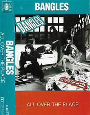 Bangles ‎All Over The Place CASSETTE ALBUM debut Pop Rock CBS 4500914 UK