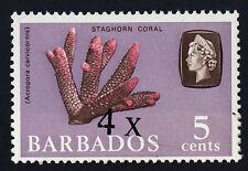 Barbados 327 o/p error MNH Staghorn Coral