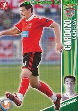 109 OSCAR CARDOZO PARAGUAY SL.BENFICA Trabzonspor CARD MEGACRAQUES 2010 PANINI