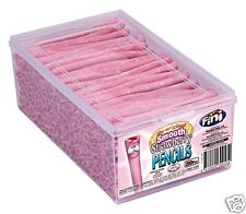 FINI: SMOOTH STRAWBERRY CANDY FILLED PENCILS Full Case of 200 pieces