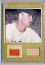 NELLIE FOX - 2012 Panini GOLDEN AGE Museum Age Used Bat Relic - White Sox