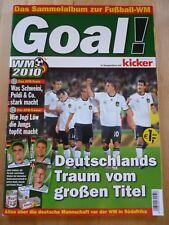 Ferrero GOAL! WM 2010 Album - kicker - duplo hanuta - KOMPLETT - DFB (2)