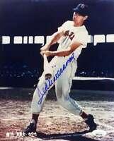 Ted Williams JSA Loa Hand Signed 8x10 Photo Autograph