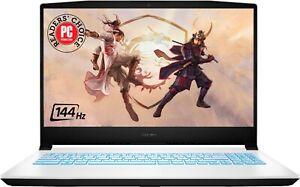 New MSI Sword 15.6'' FHD 144Hz IPS Gaming Laptop i7-11800H 8GB 512GB RTX 3050 Ti