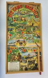 Vintage Big Game On Safari Wooden Bagatelle Board with Original Box (auction)