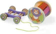 Melissa & Doug PULL & PLAY XYLOPHONE Children's Wooden Musical Developmental Toy