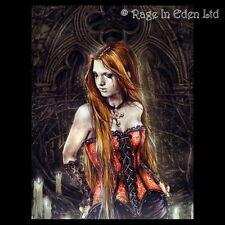 *RED BASQUE* Goth Fantasy Art 3D Print By Victoria Frances (39.5x29.5cm)