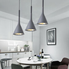 Kitchen Pendant Light Bar Lamp Modern Ceiling Lights Home Grey Pendant Lighting