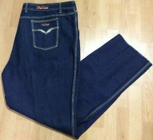 MEN'S NYC 29BROADWAY BLUE JEANS SIZE 52 INSEAM UNFINISHED BRAND NEW