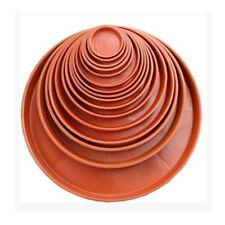 Garden Plastic Plant Pot Saucer Round Base Planter Waterproof Tray
