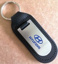 NEW Hyundai key ring, genuine leather, Tucson, Genesis, i30, i20, i10, ioniq