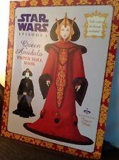 STAR WARS EPISODE 1 QUEEN AMIDALA PAPER DOLL BOOK 1999 Excellent Unused FS B6
