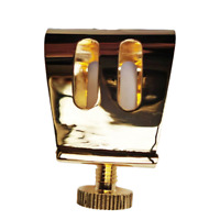 Excellent Gold Plated Tenor Saxophone Ligature for Metal mouthpiece 2021 NEW