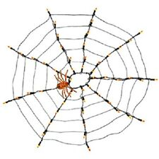 (1) SIENNA 3' x 3' 54 LIGHT SPIDER WEB NET LIGHT SET WITH SPIDER - P6604E11