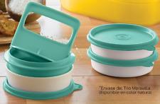 Tupperware New Free Shipping Set 4: 1 Hamburger Press and 3 Freezer Keeper