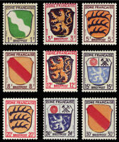 EBS Germany 1945 French Zone Arms Michel 1/10 MNH**
