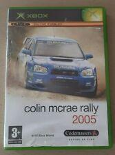 Colin McRae Rally 2005-XBox game & Manuel