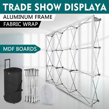 Display Stand Frame Tension Fabric Backdrop Booth Frame Straight Pop Up