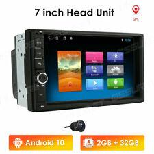 "7"" 2Din Android 10 Car GPS Navi Bluetooth Radio Stereo HD AUX USB 2+32GB Camera"
