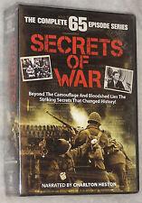 Secrets of War - The Complete 65 Episode Series (Charlton Heston) - DVD Box Set
