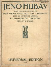 Violin solo aus der oper Der Geigenmacher von Cremona