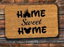 Disney Welcome PVC Backed Novelty Funny Coir Door Mat 40cm x 60cm