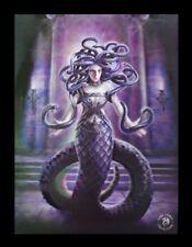 3d CUADRO CON MEDUSA - Serpents Spell - Anne Stokes Impresión Póster Lienzo