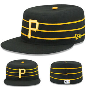 New Era Pittsburgh Pirates Fitted Hat MLB Authentic On Field Alt 2 Made in U.S.A