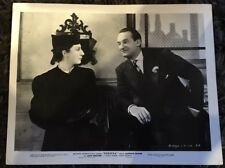 REBECCA 8x10.25 still 1940 Hitchcock, George Sanders smiling at Judith Anderson
