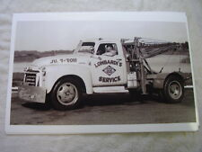 1954 ? GMC TOW TRUCK  11 X 17  PHOTO  PICTURE