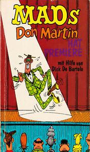 Don Martin hat Premiere – MAD Taschenbuch Nr. 1 - (1973)