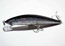 5 PCS fishing fish Black Minnow lures lure hook baits 10cm 10.5g F0004