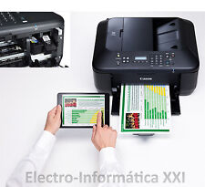 Fax y Multifuncion Wifi Canon Mx475 Inyeccion Color Escaner Impresora Todo en 1