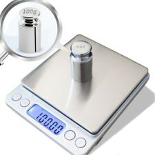 LCD Digital Pocket Scale Jewelry Gold Weight Electronic Balance Gram 0.01-3000g