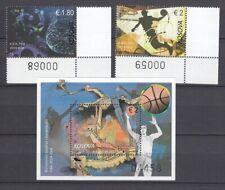 KOSOVO MiNr. 479/480 + Block 52 Basketball-WM China (2019) postfrisch/** (MNH)