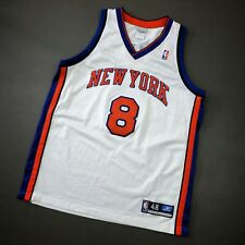 100% Authentic Latrell Sprewell Reebok Knicks Jersey Size 48 XL Mens