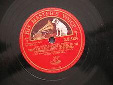 78 rpm SONATA IN B FLAT MAJOR B DUR OP 106 HAMMERKLAVIER Arthur Schnabel DB 8134