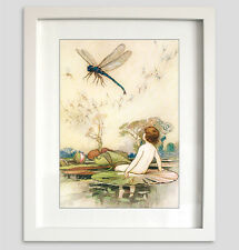 Beautiful Vintage Water Babies Print  from the story by Charles Kingsley No.1